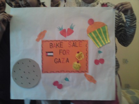 Bake sale for Gaza